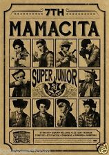 Super Junior - [MAMACITA] AYAYA (Vol.7 B Ver.) CD +PhotoCard+Poster+Gift Photo