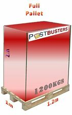 Postbusters Collection & Delivery 1200kgs Pallet Service. Bricks, Stone, Slabs