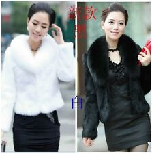 Mink coat fox fur collar short paragraph of the 2014 new  of the