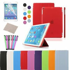 Magnetic Smart Cover Leather + Back Case for New Apple iPad 5 iPad Air 2013