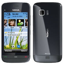 Nokia C5-03 - Graphite Unlocked GPS WiFi 5MP 600 MHz Smartphone Cell Phone FMUS