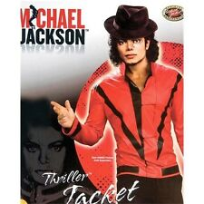 Red Michael Jackson Thriller Jacket  Adult Costume By Rubies 889348