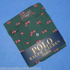 NWT Polo Ralph Lauren Cotton Classic Fit Button Front Boxer - Specialty Prints