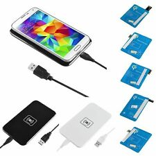Qi Wireless Charger Charging Pad For Samsung Galaxy S5 S4 S3 Note2/3 + Receiver