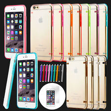 For iPhone 6S 6 Plus Case Slim Transparent Crystal Clear Hard TPU Bumper Cover