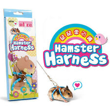 Adjustable Harness Leash Hamster Rat Mouse Squirrel Glider Small Animal CA HC