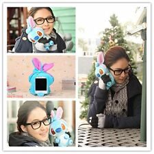 Cute 3D Funny Cartoon Dog Plush Toy Doll Case Cover For LG Cell Phones