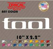 LARGE TOOL BAND LOGO VINYL CAR DECAL WINDOW STICKER MANY COLORS box