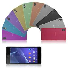 0.3mm Ultra Thin Soft TPU Fitted Case Cover Skin Shell Bumper for Sony Xperia Z2