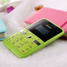 Ultra Thin Mini Bluetooth MP3 FM Creative Personality Smallest GSM Mobile Phone