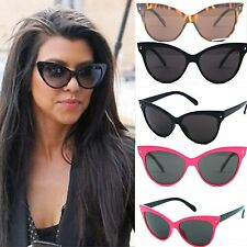Vintage Goggles Cat Eye Metal Frame Women Designer Fashion Sunglasses Shades