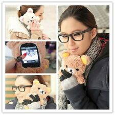 3D Cute Teddy Bear Cool Plush Toy Doll Case Cover For Various Motorola Phones