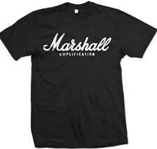 MARSHALL AMPLIFICATION AMP Rock Band Metal Punk Logo T-Shirt