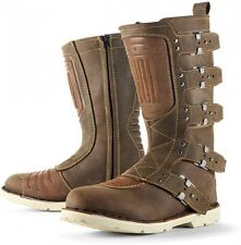 Icon 1000 Elsinore Motorcycle Boots VARIOUS SIZES/COLORS **FREE 24H DELIVERY**