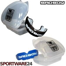 Bad Boy Mouth Guard + Case Zahnschutz Mundschutz MMA Boxen Eishockey Muay Thai