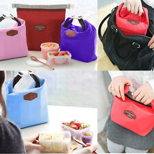 Thermal Cooler Insulated Lunch Carry Tote Boxes Picnic Storage Pouch PortableBag