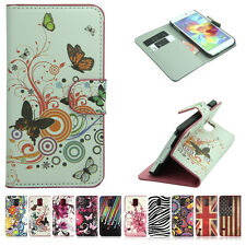 Fashion Printed Cute Lovely Magnetic Wallet Stand Flip PU Leather Cover Case