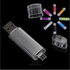 Chiavetta Pendrive 8GB 2in1 USB/Micro USB Flash Drive Memory Stick Disk Pen OTG