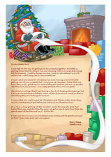 LETTER FROM SANTA, TOOTH FAIRY, EASTER BUNNY SCROLL, FATHER CHRISTMAS