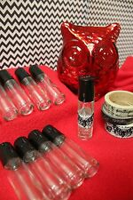 Roll on bottle LOT 10ml ~ for essential oil (doterra,young living,etc) perfume +