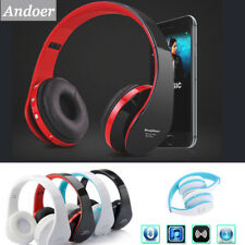 Foldable Wireless Stereo Bluetooth Headphones For Cell Phone Laptop PC Tablet US
