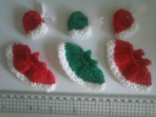 Christmas Girl /  Boy Card Toppers / Embellishments FREE UK POSTAGE