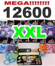 Loom Bands XXL Set Webrahmen + S-Clips Looms Armband Gummibänder Bandz Box Start
