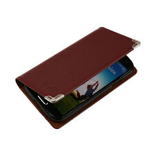 S Flip Cover Case Phone Wallet Purse Leather Jelly Id Credit Card Holder SI