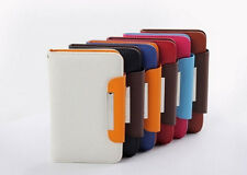 New 5.7 inch PU Leather wallet Flip Cover Case For GOCLEVER FONE 570Q Phone