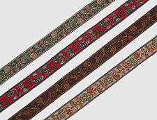 "7 Yd Jacquard Trim 0.5"" wide Woven Border Sew Embroidered Ribbon Lace T870"