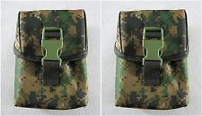 2 x New Tactical Medic Molle Improved First Aid Kit Pouch ACU/Marpat--Airsoft