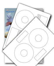 Hovat Matt CD / DVD Labels Inline or Offset, Neato or PressIt Style