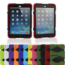 Waterproof Survivor Shockproof Military Duty Hybrid Hard Case For iPad Mini 1 2