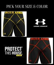 "MEN'S UNDER ARMOUR COMPRESSION X CORE SHORTS 9.5"" INSEAM BASELAYER 1232703 NWT"