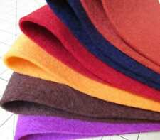 "Single Sheet 100% Virgin Merino Wool Felt  8"" X 12 """