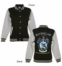 Official Ladies Black Harry Potter Ravenclaw Team Quidditch Varsity Jacket