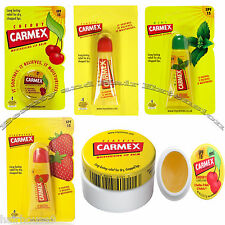 Carmex Lip Balm in Jar and Tube Sooth Moisturise and Relieve Dry Chapped Lips