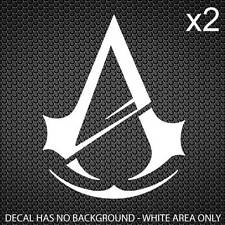 Assassins Creed Unity Decal Assassin's 40x30mm [1.6x1.2in] [Set of 2]