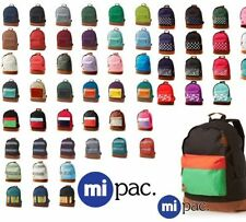 MENS BOYS GIRLS DESIGNER MI PAC BACKPACK RUCKSACK BAG SCHOOL COLLEGE BNWT