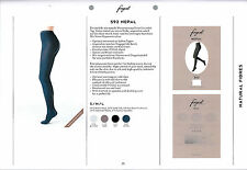 Fogal Nepal pantyhose, 3 pack, high content of wool, silk and cashmere