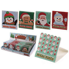 Christmas Nail File Match Book Cute Stocking Filler Token Gift