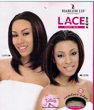 Harlem125 Braid Lace Front Wig Curing Iron Heat Safe Synthetic Hair Wig #LD700