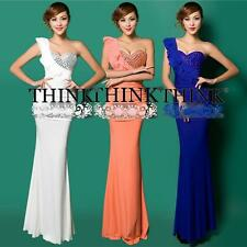 Colorful Formal Gown Bridesmaid Prom Long Cocktail Party Ball Dresses Clearance