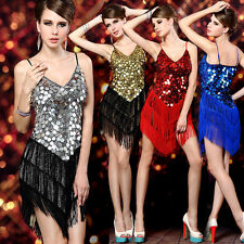 2015 HOT~Slim Sexy Sequins Women Club Wear Night Party Dancing Dresses Free Size