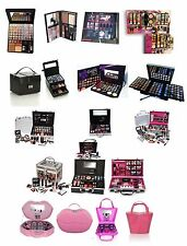 Girls Make Up Kit Eye Shadow Lip Stick Balm Face Palette Mascara Cosmetics Set