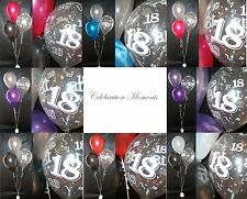 Happy 18th Birthday Party Helium Balloon Decoration DIY Clusters Kit -20 tables