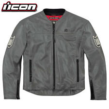 Icon 1000 Chapter Jacket Grey/XL Red/MEDIUM  ***FREE 24H DELIVERY***