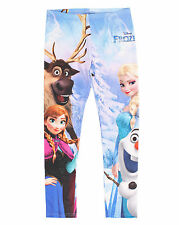 Mighty Fine Disney Frozen Group Shot Juniors Leggings