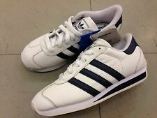 newest 4df50 6b93e SHOES SCARPE BAMBINO RAGAZZO KID ADIDAS ORIGINALS COUNTRY II K 011431  WHITE NAVY