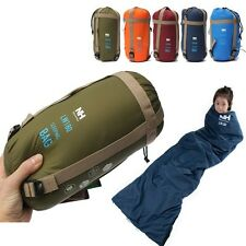NEW Outdoor Envelope Sleeping Bag Camping Travel Hiking Multifuntion Ultra-light